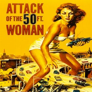 Face For Radio Attack Of The 50 Foot Woman