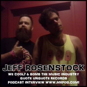 103 - Jeff Rosenstock Talks We Cool?  and the demise of Bomb the Music Industry.