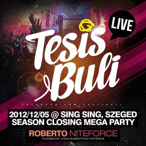 Roberto NiteRise - live @ TESIS BULI Season Closing Sing Sing Szeged (2012-12-04)