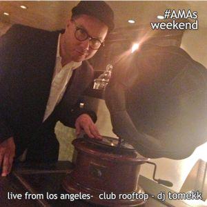 Live from LosAngeles #AMAs Weekend Tomekk