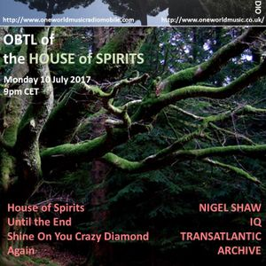 Obscured By The Light 88 of the House of Spirits