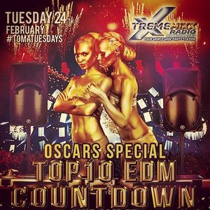 Top 10 EDM Countdown Show - Feb 24, 2015 with Freestyle Chulo & DJ Lexx