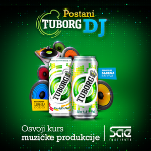 Postani Tuborg DJ – Escape