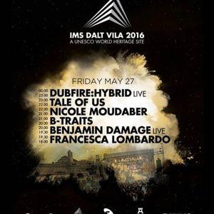 Dubfire (Live HYBRID) – Live @ IMS Dalt Vila 2016 – 27.05.2016