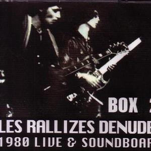裸のラリーズ (Les Rallizes Denudes) -1980-08-14 渋谷屋根裏,Tokyo,Japan