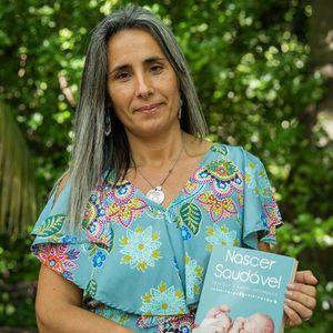"""24 MAIO - Livro """"Nascer Saudável"""" - Sandra Oliveira"""