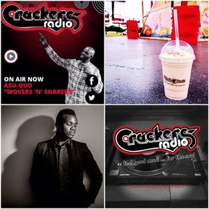 Asu-Quo ft Ronald Brian on Movers N Shakers on Crackers Radio 17th October 2015