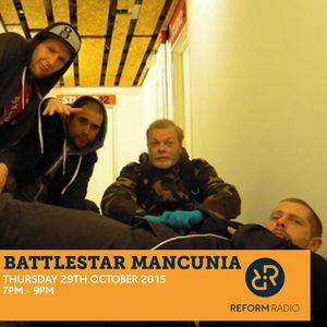 Battlestar Mancunia 29th October 2015 with Agent J & Peter Parker