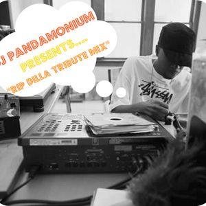 "DJ Pandamonium ""James Dewitt Yancey RIP Tribute Mix '11"""