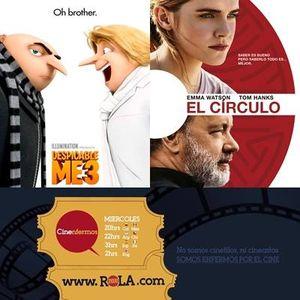 Cinenfermos 28 de junio Mi Villano Favorito 3 El Circulo