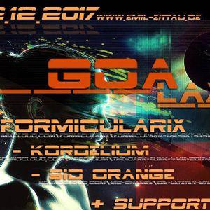 DJ-Set @GOAlaxy (Emil/Zittau) 2017-12-02