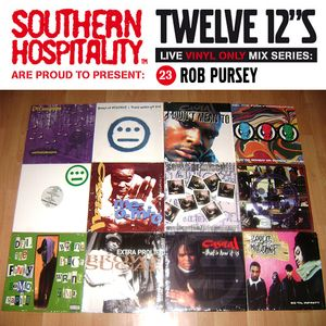 Twelve 12's Live Vinyl Mix: 23 - Hieroglyphics special! - Rob Pursey