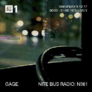 Nite Bus Radio w/ Gage - 9th December 2017