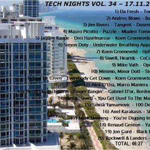 Tech Nights Volume 34 - November 2012