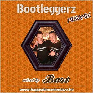 Bootleggerz Megamix mixed by BART (2016)
