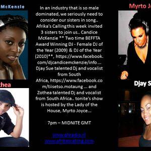 Afrika's Calling Ladies Nite 22.06.2012