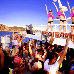Sebastian Rex @ Boat Party Ibiza 2015