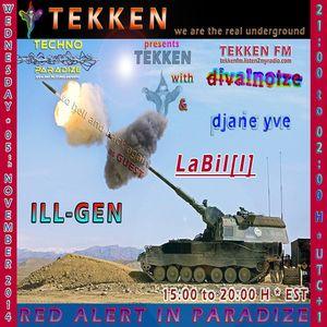 ILL-GEN: TEKKEN@GTU RADIO - To Hell And Back Again (03. Nov. 2014)