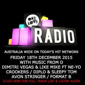 onelove radio 18th December 2015