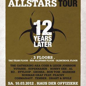 DJ Set @ 12 Years BRB Allstars, HdO Brandenburg, 10-03-2012