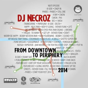DJ NECROZ DOWNTOWN TO PERIPHERY