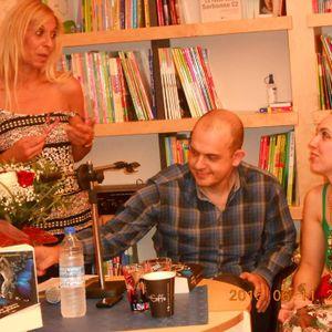 """Παρουσίαση του """"Όταν ξέρεις ν' αγαπάς"""" στα Χανιά και στο βιβλιοπωκλείο Librairie"""