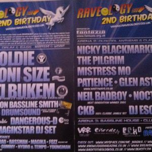 Dj Patience - Raveology - Air Nightclub - Birmingham - April 2006