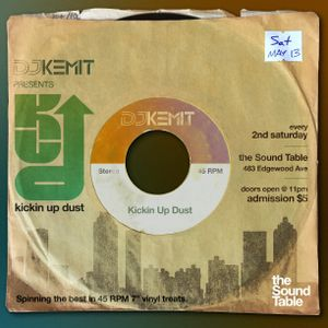 DJ Kemit presents Kickin Up Dust May 2017 Promo Mix