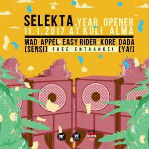 Kore Dada at SELEKTA - 11/01/17