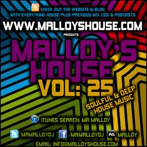 Malloy's House Vol 15 (Soulful & Deep House Music)