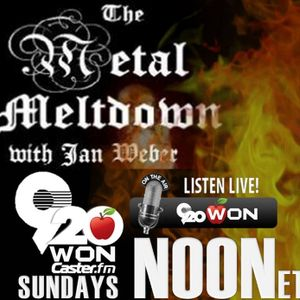 The Metal Meltdown with Ian Weber (Show from 5/1/16)