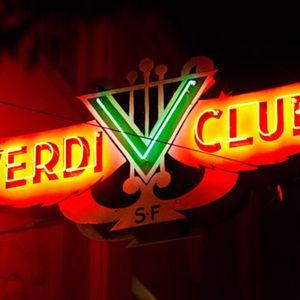 Live at Verdi Club