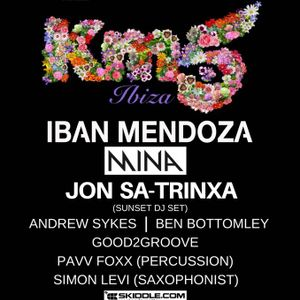 Ben B - 53 Degrees North 3rd Birthday with KM5 Ibiza - Chilled out ambient mix