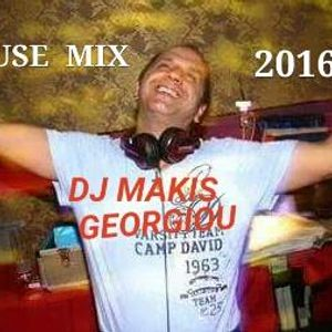 HOUSE MIX DJ MAKIS GEORGIOU 2016