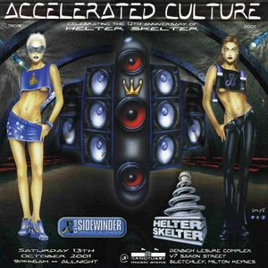 Ratty with Eksman & Shortston at Accelerated Culture 4 (Oct 2001)