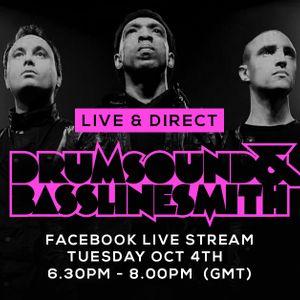 Drumsound & Bassline Smith - Live & Direct #6 (04/1016)