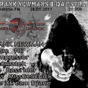 Miss_MissGeSchick @ Frank Newman's B-Day Session 2011 on CoreTime.fm Teil I