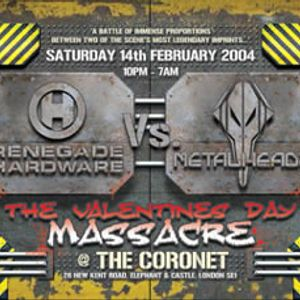 Pendulum feat MC Rage live @ Renegade Hardware vs Metalheadz - Feb 2004