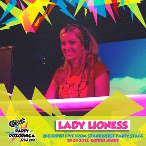Špancirfest 2012 Party Stage - Lady Lioness
