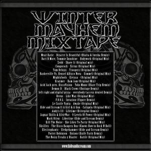 Hide and Scream Presents Winter Mayhem Mixtape