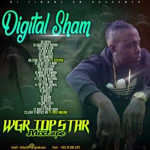 DJ TINDOL 3D PRESENTS DIGITAL SHAM - WGR TOP STAR MIXTAPE 2018