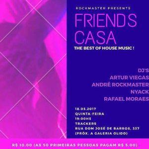 Friends Casa na Trackers 18.05.17 (2a Edição)