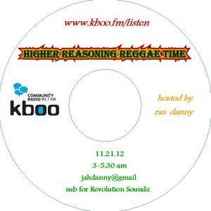 HRRT subs Revolution Soundz 11.21.12