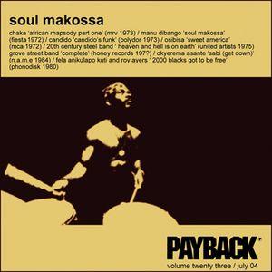 PAYBACK Vol 23 July 2004