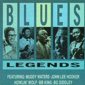 Blues Legends: 4 x 12 [1936 to 2013] feat Muddy Waters, Howlin' Wolf, John Lee Hooker, Buddy Guy