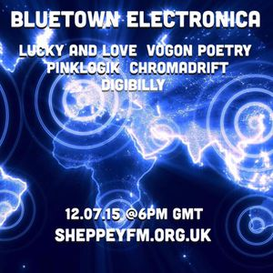 Bluetown Electronica live show 12.07.15