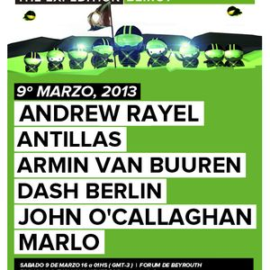 Andrew Rayel - Live @ A State of Trance 600 Beirut - 09.03.2013