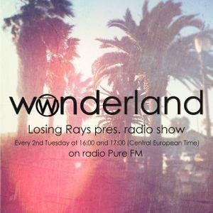 Losing Rays@Wonderland Radioshow #30 [September 11.2012 ] Pure FM