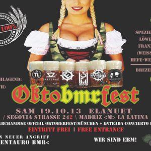 Dj Verfluchte - OCTOBMRFEST Session - Elanuet Pub. 2013-10-19
