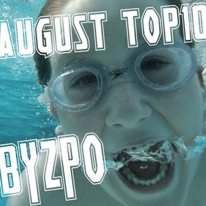 August 2012 TOP10 mixed by BYZPO